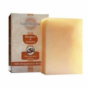 Мыло шафран и солодка vedik essence ведик ессенс Vedik Essence (Ведик Ессенс), 100 гр. - Натуральное мыло