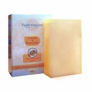 Мыло сандал и куркума vedik essence ведик ессенс Vedik Essence (Ведик Ессенс), 100 гр. - Натуральное мыло