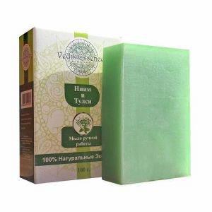 Мыло ним и тулси vedik essence ведик ессенс Vedik Essence (Ведик Ессенс), 100 гр. - Натуральное мыло