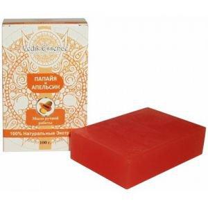 Мыло папайя и апельсин vedik essence ведик ессенс Vedik Essence (Ведик Ессенс), 100 гр. - Натуральное мыло