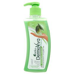 Антибактериальное крем-мыло для рук, Dabur Vatika DermoViva cream hand wash Naturals Antibacterial, 200 мл.