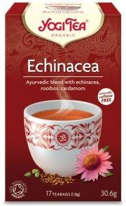 Yogi tea echinacea эхинацея  Yogi TeaАюрведический чай Yogi Tea<br>Эхинацея укрепляет иммунную систему, способствует защите организма от неблагоприятных факторов. Другие травы в составе чая усиливают защитное действие.<br>