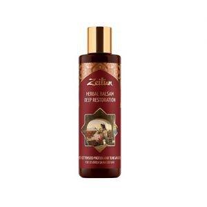 Фито-бальзам восстанавливающий для поврежденных волос с протеинами хлопка и оливой zeitun зейтун Zeitun (Зейтун), 200 мл. - Шампуни и кондиционеры