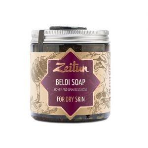 Мыло бельди с мёдом и дамасской розой для сухой кожи zeitun зейтун Zeitun (Зейтун), 250 мл. - Натуральное мыло
