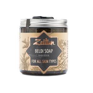 Мыло бельди с маслом черного тмина для всех типов кожи zeitun зейтун Zeitun (Зейтун), 250 мл. - Натуральное мыло