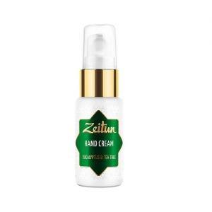 Крем для рук натуральный эвкалипт и чайное дерево zeitun зейтун Zeitun (Зейтун), 30 мл. - Уход за телом
