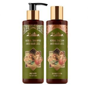 Набор против выпадения волос zeitun зейтун. Zeitun (Зейтун) - Аюрведические наборы
