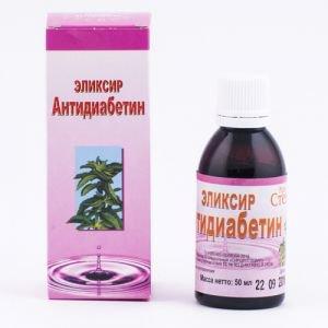Сахарозаменитель антидиабетин Крымская Стевия, 50 мл. - Стевия (заменитель сахара)