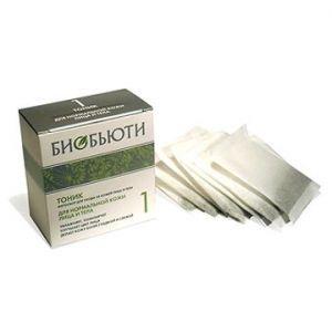 Биотоник формула 1. для нормальной кожи лица и тела Биобьюти, 10 пак