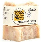 Туалетное мыло медовый скраб  МиКо,  75 г.