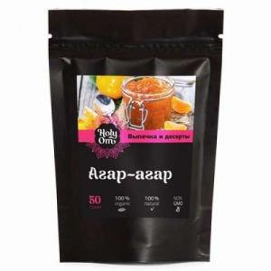Агар-агар для выпечки и десертов holy om холи ом Holy Om (Холи Ом), 50 г. - Специи и приправы