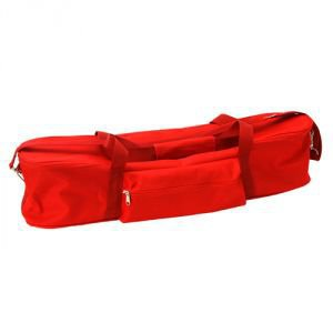 Сумка для йоги agra красная Amrita Style - Для ковриков шириной 60 см.