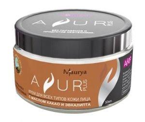 Купить со скидкой Крем для всех типов кожи лица с маслом к  Ayur Plus (Аюр Плюс)