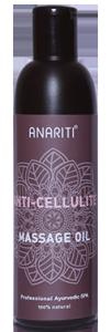Антицеллюлитное массажное масло (anariti), 250 мл.Уход за телом<br>Это особенное масло, созданное специалистами в области фитотерапии, <br>содержит экстракты растений, обладающих разгревающим эффектом при <br>нанесении на кожу.<br>