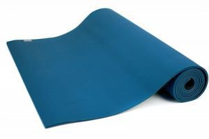 Коврик для йоги ashtanga color аштанга колор,  215см х 66см х 5, 5 мм,  морской волны  Йогин от Ayurveda-shop.ru