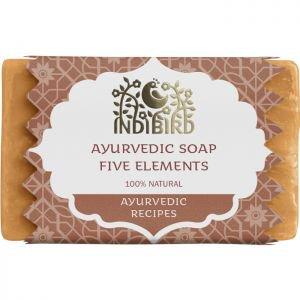 Аюрведическое мыло пять элементов индиберд ayurvedic soap five elements indibird Indibird (Индибёрд), 100 г. - Натуральное мыло