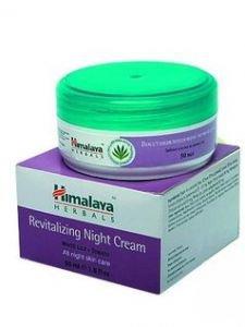 Восстанавливающий ночной крем для всех типов кожи Himalaya Herbals, 50 мл