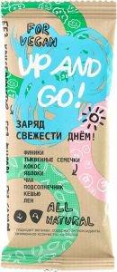 Батончик заряд свежести днем up and go Дары Памира, 45 г. - Полезные сладости