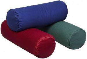 Болстер для йоги 50x20 темно-красный Amrita Style - Подушки, болстеры