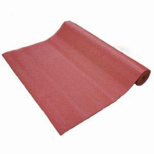 Коврик для йоги bombay бомбей, красный Amrita Style - Тонкие коврики (3-4 мм.)