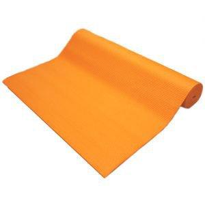 Коврик для йоги bombay бомбей, оранжевый Amrita Style - Тонкие коврики (3-4 мм.)
