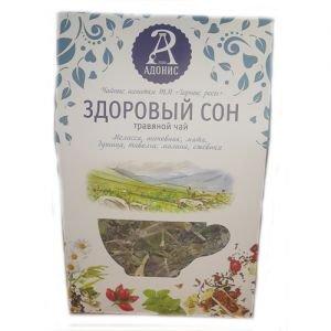 Чай травяной здоровый сон тамба Тамба-Адонис (Тамба Адонис), 50 г. - Травяные чаи, напитки