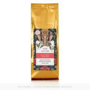 Чай черный мелколистовой резаный с типсами assam fbop black tea Золото Индии, 100 г. - Травяные чаи, напитки