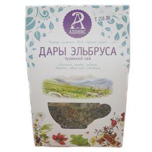 Чай травяной дары эльбруса тамба Тамба-Адонис (Тамба Адонис), 50 г. - Травяные чаи, напитки