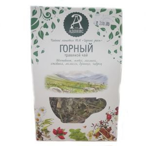 Чай травяной горный тамба Тамба-Адонис (Тамба Адонис), 50 г. - Травяные чаи, напитки