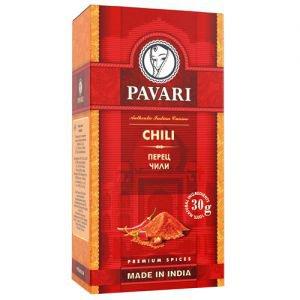Перец чили молотый p PAVARI (Павари) - Специи и приправы