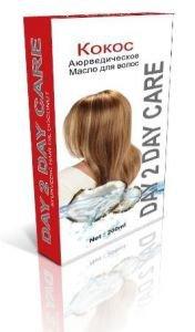 Масло для волос аюрведическое day 2 day care кокос Day 2 Day Care (Дэй ту Дэй Кэр), 200 мл. - Уход за волосами