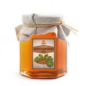 Мёд кориандровый Янтарь – Душевный мёд, 1000 г. - Полезные сладости