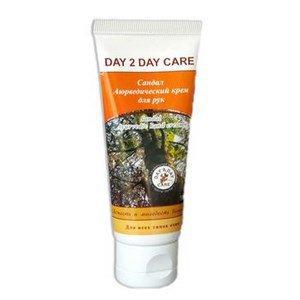 Аюрведический крем для рук сандал day 2 day care Day 2 Day Care (Дэй ту Дэй Кэр), 50 мл. - Уход за руками