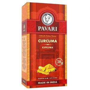 Куркума молотая pavari PAVARI (Павари), 30 г. - Специи и приправы