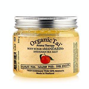 Скраб для тела на основе соли андаманского моря мандарин органик тай body scrub mandarin organic tai Organic Tai (Органик Тай), 200 г. - Уход за телом