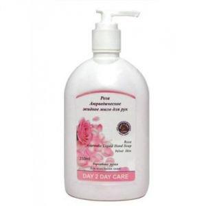 Аюрведическое жидкое мыло роза  Day 2 Day Care,  250 мл.