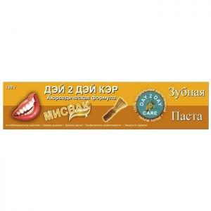 Зубная паста дэй ту дэй кэр мисвак day 2 day care toothpaste meswak Day 2 Day Care (Дэй ту Дэй Кэр), 100 гр. - Уход за полостью рта