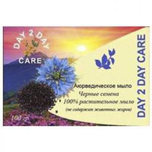 Аюрведическое мыло черные семена дэй ту дэй кэр day 2 day care Day 2 Day Care (Дэй ту Дэй Кэр), 100 г. - Натуральное мыло