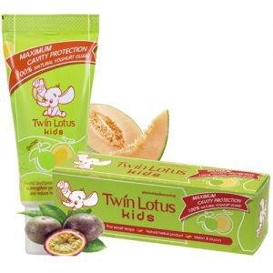 Детская зубная паста дыня и гуава twin lotus твин лотус  ,  50 г.