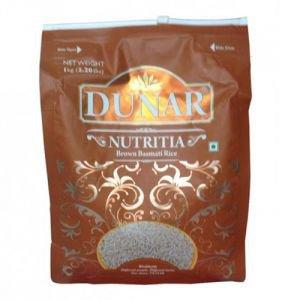 Рис басмати бурый нешлифованный dunar nutritia Dunar (Дунар), 1кг. - Каши, крупы, мука