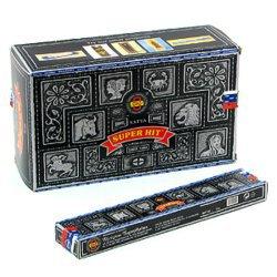 Благовония масала satya super hit, 15 г.Благовония SATYA (Индия)<br>Благовония «Супер Хит» - самый продаваемый продукт компании «Сатья» в России! Аромат палочек сладкий с кислинкой, тяжёлый.<br>