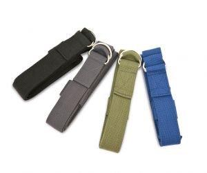 Ремень для йоги 210х4 см., темно-зеленый Йогин - Ремни, одеяла, стулья