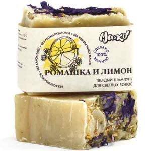 Шампунь твердый для светлых волос ромашка и лимон МиКо (Mi&ampko), 75 г. - Шампуни и кондиционеры