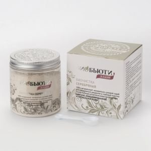 Биочистка серебряная биобьюти-элит для жирной и нормальной кожи biobeauty биобьюти  BioBeauty (БиоБьюти),  200 г. от Ayurveda-shop.ru