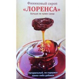 Сироп финиковый лоренса  веган фуд  Vegan Food,  300 мл. от Ayurveda-shop.ru