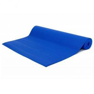 Коврик для йоги ganesh ганеш,  синий  ЙогинНедорогие коврики<br>Недорогой липкий армированный коврик для занятий йогой и фитнесом. Он изготовлен из PVC/vinil пены, благодаря армирующей ткани не растягивается в процессе практики.<br>