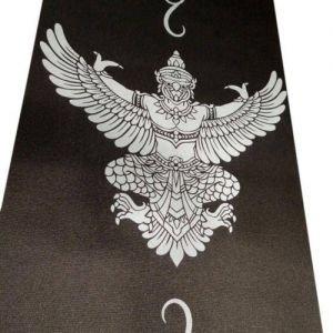 Коврик для йоги с принто RamaYoga (Рамайога) - Тонкие коврики (1-3 мм.)