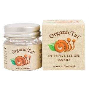 Гель интенсивный для век с экстрактом улитки органик тай intensive eye gel snail organic tai  Organic Tai (Органик Тай),  30 мл. от Ayurveda-shop.ru