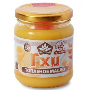 Масло гхи топленое гвоздичное ТД Вастэко, 200г. - Пищевые масла