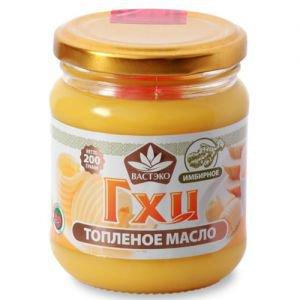 Масло гхи топленое имбирное ТД Вастэко, 200г. - Пищевые масла